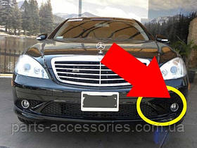 Mercedes S W221 W 221 решетка левая в бампер AMG до рестайл. новая оригинал