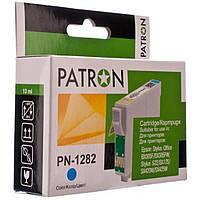 Картридж PATRON для Epson S22/SX125/SX420W/SX425 CYAN (CI-EPS-T1282-C-PN)