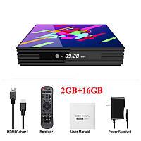 Smart tv BOX A95X Z2 + Android 9,0 RK3318 2Gb/16Gb ТВ бокс приставка