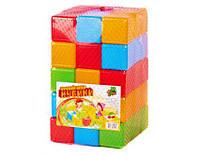 Кубики цветные 45 шт Мир. 09065