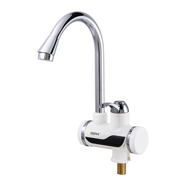 Смеситель для кухни ZERIX ELW02-EP водонагреватель 3 kW проточный