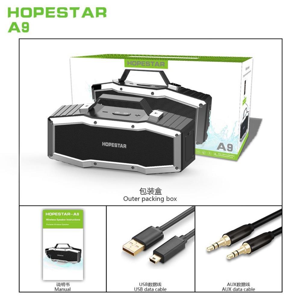 Портативна Bluetooth колонка HOPESTAR A9 SE