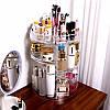 Органайзер для косметики вращающийся Cosmet Ics Storage Box Rot at Ive Rack JN-820, фото 7