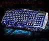 Стильная игровая клавиатура V-100 и мышка с подсветкой, фото 4