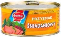 Паштет на завтрак Przysmak Sniadaniowy EVRAMEAT 300 гр. Польша