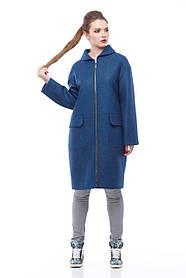 Трендовое женское демисезонное пальто, размер 42-48