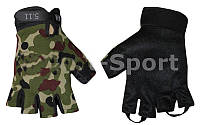 Перчатки тактические 5.11 BC-4379 (хаки, черные, PL, открытые пальцы, р-р S, M, L)