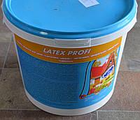 Краска латексная для крыш (шифер, оцинковка),  по металлу, дереву, минеральным основаниям Latex Profi (6 кг)