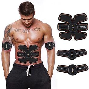 Электрический стимулятор мышц EMS TRAINER, миостимулятор, массажер для пресса, массажер бабочка, фото 2