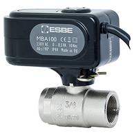 """ESBE"" Двуходовий шаровой клапан с приводом MBA121, ВВ 3/4"", kvs 45"