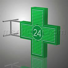 """Хрест для аптеки 900х900 мм світлодіодний двосторонній. Серія """"Twenty-Four"""""""