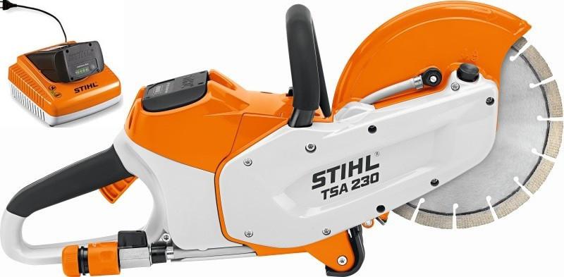 Бензорез аккумуляторный Stihl TSA 230 Set (48640116600)