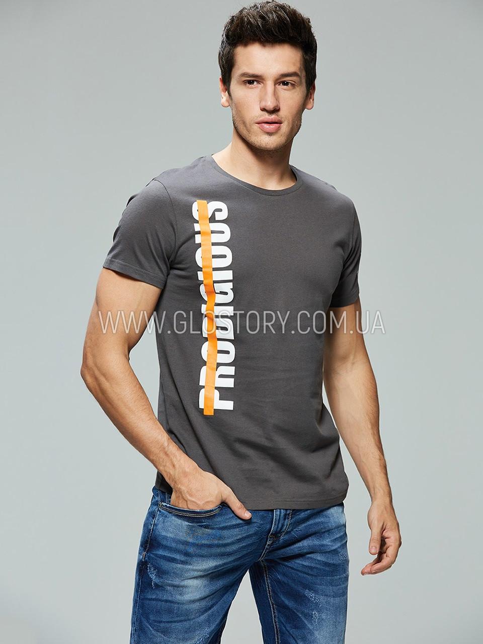 Мужская футболка GLO-Story,Венгрия