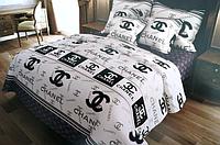 """Евро комплект постельного белья """"Шапель не компания"""""""