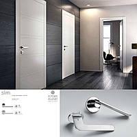 Дверная ручка для входной и межкомнатной двери Colombo, модель Slim FF11. Италия
