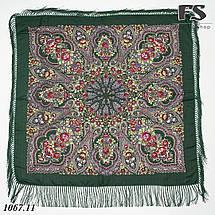 Павлопосадский платок Цветочное вдохновение, фото 3