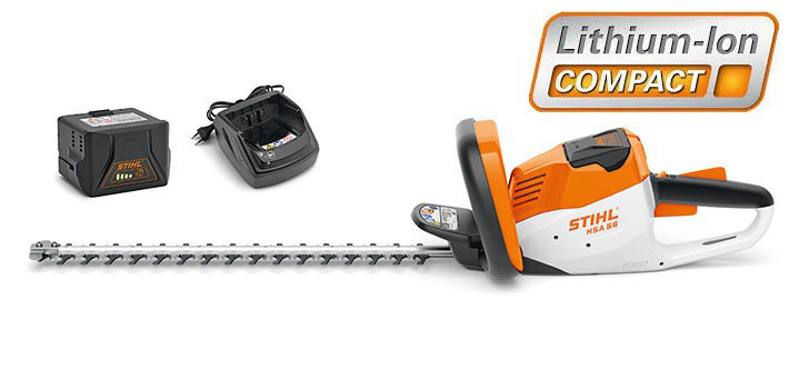 Аккумуляторный кусторез Stihl HSA 56 Set (45210113518)