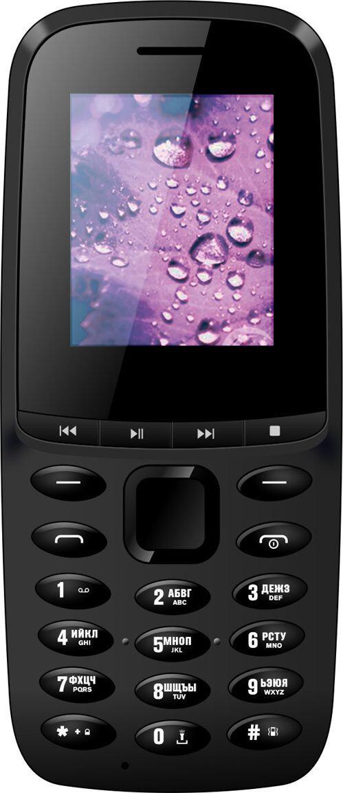 Мобильный телефон Nomi i189 Black Гарантия 12 месяцев