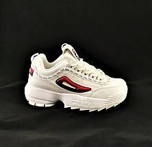 Кроссовки Fila Disruptor Белые (размеры: 38,39,40,41) Видео Обзор, фото 3