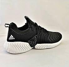Кроссовки Мужские Adidas Alphabounce Чёрные Адидас (размеры: 42,43,44) Видео Обзор, фото 3