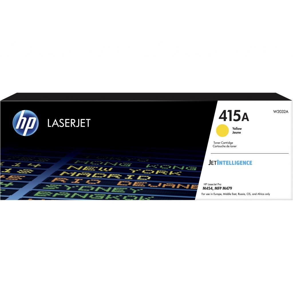 Картридж HP CLJ  415A Yellow (W2032A)