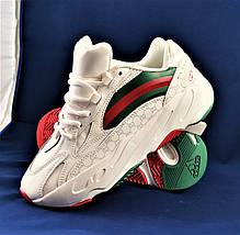 Кроссовки Adidas & GUCCI Yeezy Boost 700 Белые Адидас (размеры: 41,42,43,44,45) Видео Обзор, фото 3