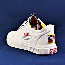 Кроссовки Vans NASA Shuttle Белые Кеды Мужские (размеры: 41,42,43,44) Видео Обзор, фото 3