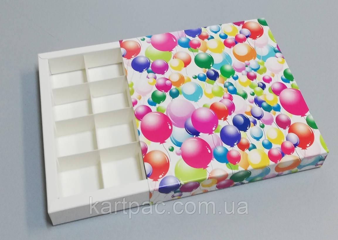 Упаковка для цукерок ручної роботи 165*165*30 (кульки)