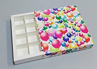 Упаковка для конфет ручной работы 165*165*30 (шарики)