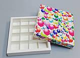 Упаковка для цукерок ручної роботи 165*165*30 (кульки), фото 2