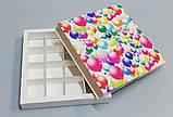 Упаковка для цукерок ручної роботи 165*165*30 (кульки), фото 4
