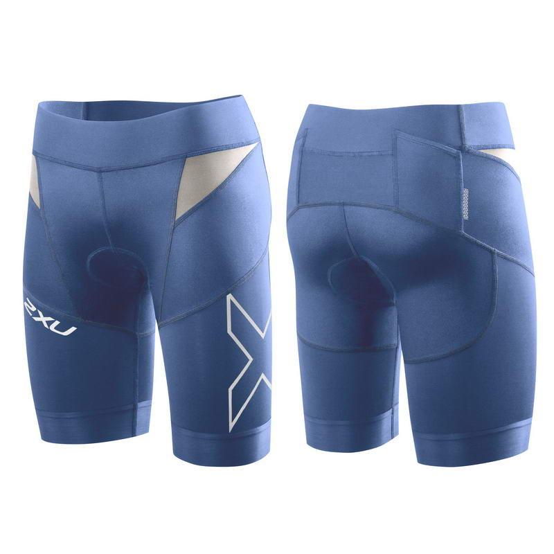 Женские компрессионные 2XU шорты для триатлона (Артикул: WT3112b)