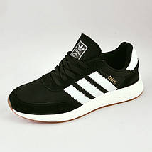 Кроссовки Мужские Adidas Iniki Runner Boost Чёрные Адидас (размеры: 45) Видео Обзор, фото 3