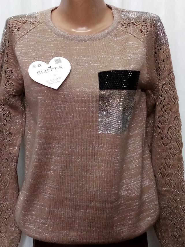 Женский свитер (48-50) GlobalOpt Турция оптом