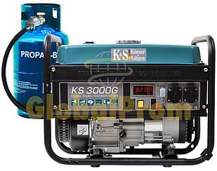 Газобензиновый генератор Könner & Söhnen KS 3000G