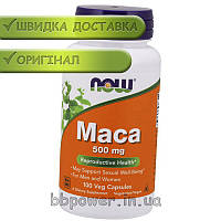 Мака  NOW Foods Maca 500 mg 100 капс