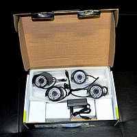 4х канальная система домашнего видеонаблюдения (DVR KIT H.264 DIY 4 CHANNEL)