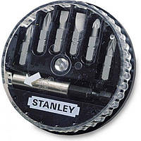 Набор бит Stanley биты Sl, Ph 7шт. + магнитный держатель (1-68-735)