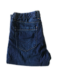 Мужские джинсы утепленные Franco Benussi 20-102 TORINO темно-синие, фото 9