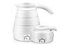 Дорожный силиконовый электрический складной чайник Elecreic Kettle(W-013)