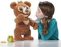 Интерактивный Мишка Кабби FurReal Friends Cubby The Curious Bear Оригинал Hasbro