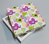Упаковка для кондитерських виробів 165*165*30 (святкова), фото 2