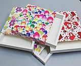 Упаковка для кондитерських виробів 165*165*30 (святкова), фото 7