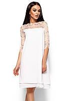 (S, M, L) Вечірнє біле плаття з мереживом