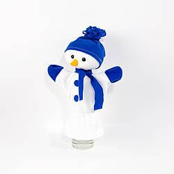 Кукольный театр рукавичка Kronos Toys Снеговик 32 см (zol_351)