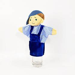Кукольный театр рукавичка Kronos Toys Мальчик Шустрик 30см (zol_350)