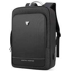 Рюкзак для ноутбука 15,6-17 дюймов и планшета 9,7 дюймов Arctic Hunter B00227 25 л Черный (gr_010933)
