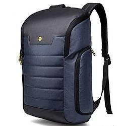 Рюкзак городской Tangcool TC728 20 л Черный с синим (gr_010930)