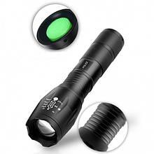 Тактический подствольный фонарик охоты или страйкбола Bailong Police BL8831 T6 50000W Черный