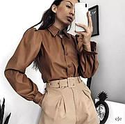 Одежда из эко-кожи - тренд сезона 2020/2021